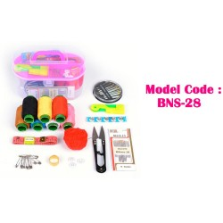 12IN1 Sewing Tool Pack Kit Thread Threader Needle Tape Measure Scissor