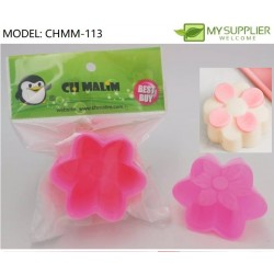 6pcs jelly mould flower shape w5.5xh3cm