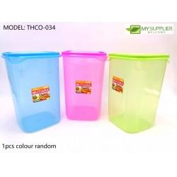100ml BPL034 Plastic Canister w10xh15cm