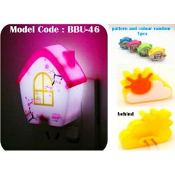 House Night Lamp L7cm*W6cm*H3.5cm+-
