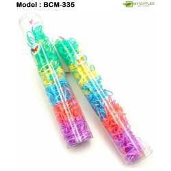 Long Barrel Elastics Rubber Bands - Colourful