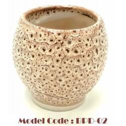 Garlic ceramic mortar D9cm*H10cm