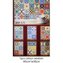 6in1 Ceramic Tiles Stickers 53CM*30CM