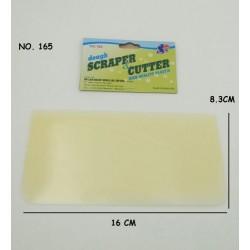 165 Plastic Dought Scraper & Cutter L16cmxW8cm