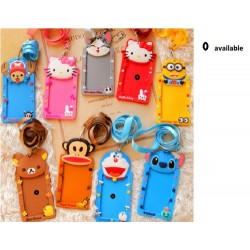 12x6cm cartoon card holder w/stripe