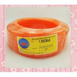 16mm x 15m orange pvc hose *