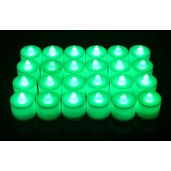 4.5*3.5cm+- LED green candles