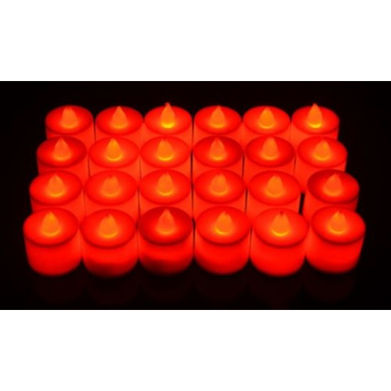 4.5*3.5cm+- LED red candles