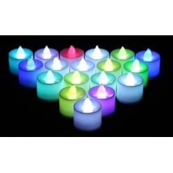 4.5*3.5cm+- LED colourful candles