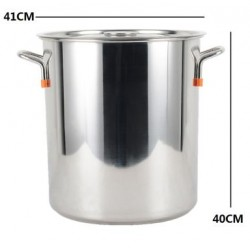 40cm stainless steel stockpot