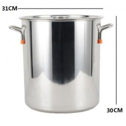 30cm stainless steel stockpot
