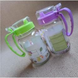 Glass Oil Bottle W6cm*H14cm
