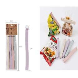 6071 4pcs big Sealing Clip Snack Food Clip L14*1.5*1CM