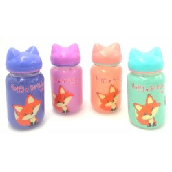 glass bottle-fox