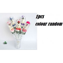 Rose Bouquet With Bear 39CM+-