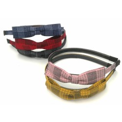 Stripe Ribbon Hair Band