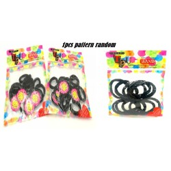 10pcs Elastic Cloth Hair Band