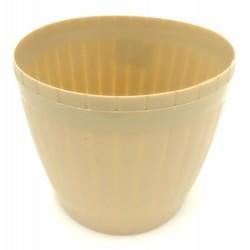 Plastic Flower Pot W17cm*H14.5cm