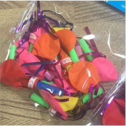 10in1 Whistle Party Balloons
