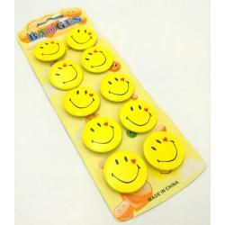 10pcs emoji badge