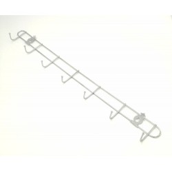stainless steel 7hook 49cm*5cm*3cm