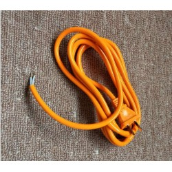 2.5m Yellow Power Cord Cable