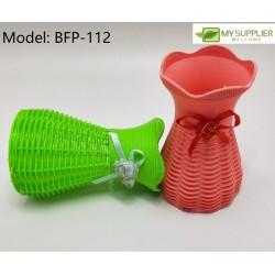 LC112 Plastic Flower Pot w10cm*h16cm