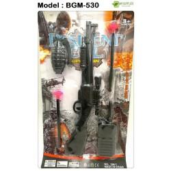 198 5IN1 Long Gun Grenade Toys Set L34cm*W19cm