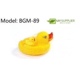 2in1 orange toy duckling 10cm and 3.5cm