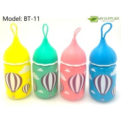 Colourful Glass Bottle
