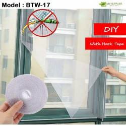 127x150cm DIY Mosquito Net With Hook Tape