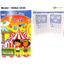 323e 32pages activity book(numbering)