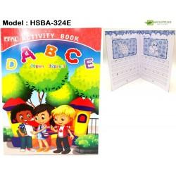 324E 32pages activity book (alphabet)