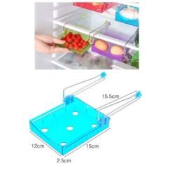 refrigerator organizer space saver shelf