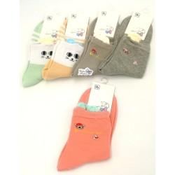 Women Cotton Sock (Random)