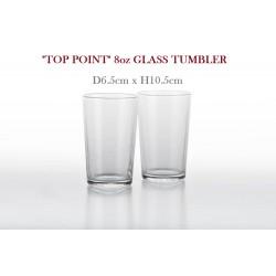 no.6238 tempered glass tumbler 8oz