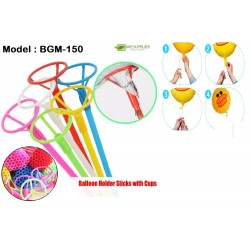 40cm Foil Balloon Stick With Cup