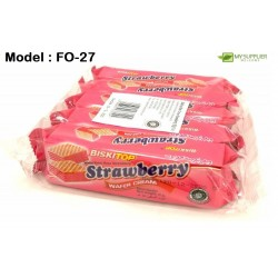 30g 5in1 Biskitop Wafer Cream Strawberry