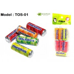 10g 7in1 Mini Mentos Candy-Fruit Mix