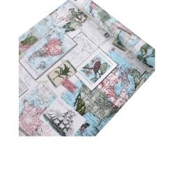 map wallpaper 45cm*10meter