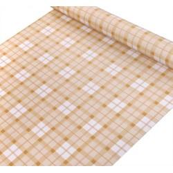 yellow lattices wallpaper 45cm*10meter
