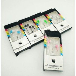 in-ear headphones with box*