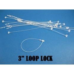 3inch 1000pcs+- Plastic Tag Ties Fastener