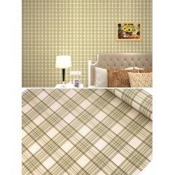 green lattices wallpaper 45cm*10meter