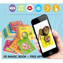 3D Children´s Magic Book + Free Apps