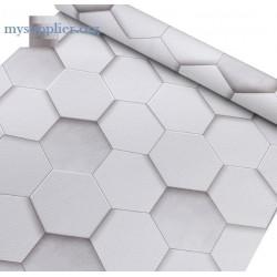 9171 Stereoscopic rhombus wallpaper 45cm*10meter