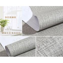 9183 burlap grey wallpaper 45cm*10meter