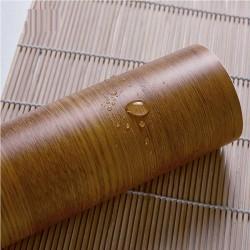 30034 yellow wood grain wallpaper 45cm*10meter