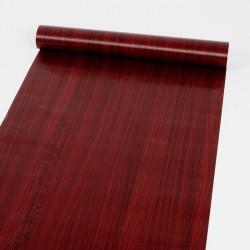 30075 red wood grain wallpaper 45cm*10meter