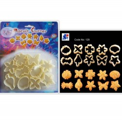 129 plastic biscuit cutter